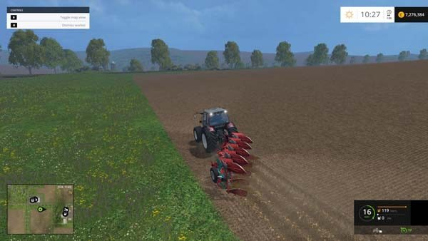 Kverneland plow v 1.0 [MP] 5