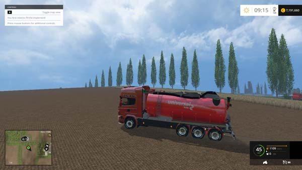 Lantmannnen Slurry Truck Trailer 1