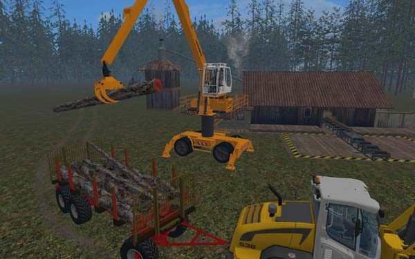 Liebherr 900c Long Reach Forest v 1.0 [MP] 2