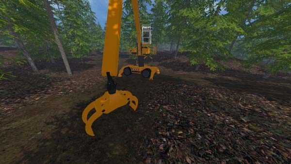 Liebherr 900c Long Reach Forest v 1.0 [MP] 25
