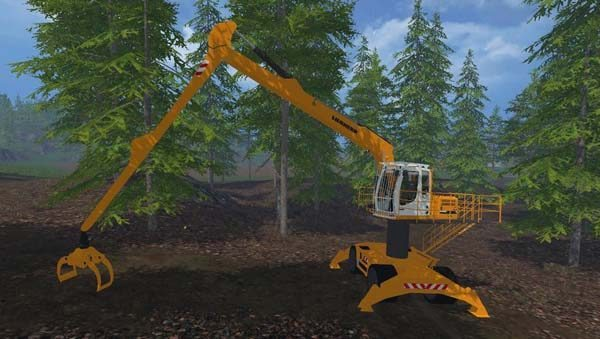 Liebherr 900c Long Reach Forest v 1.0 [MP]