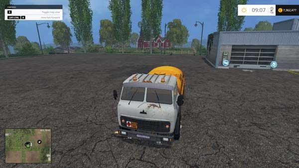 MAZ 500 and Trailer v 2.0 1