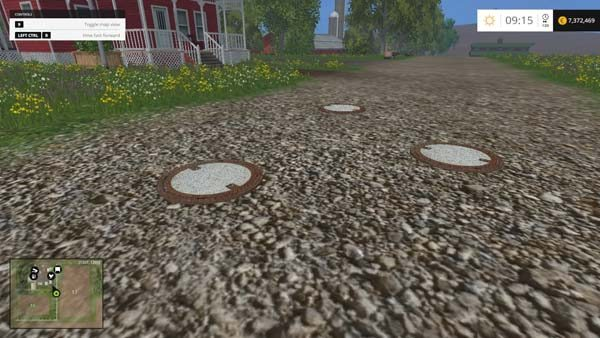 Manhole cover v 1.0 [MP]