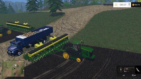 Mercedes Benz 1513 For Planter and sprayer Supply v 1.0 [MP] 1