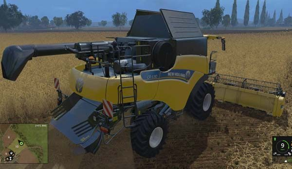 New Holland CR 6.90 v 0.7 BETA [MP] 5