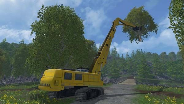 Rolo Excavator Forest Pack Beta 1
