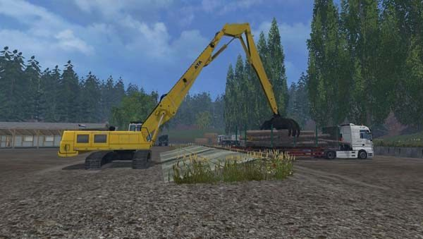 Rolo Excavator Forest Pack Beta 5
