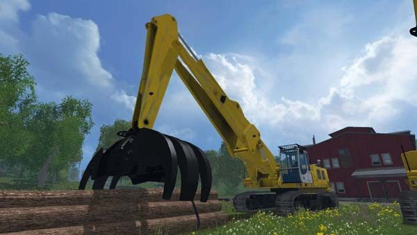 Rolo Excavator Forest Pack Beta,