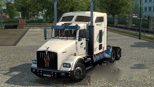TruGreen T800 Truck Skin