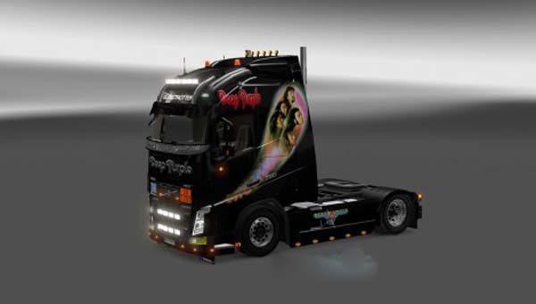 Volvo FH 2013 Deep Purple Skin