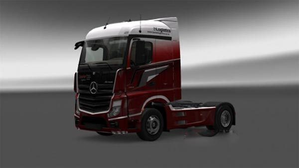 Banter logistics Mercedes Benz MP4
