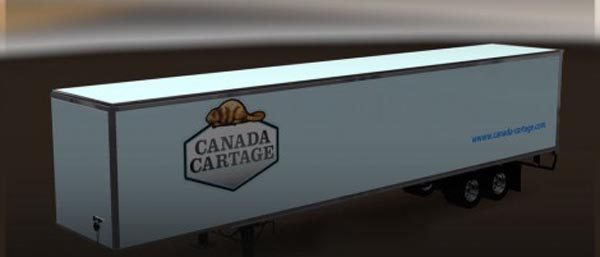 Canada Cartage Trailer