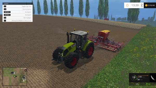 Claas Axion 850 v 6.0 5