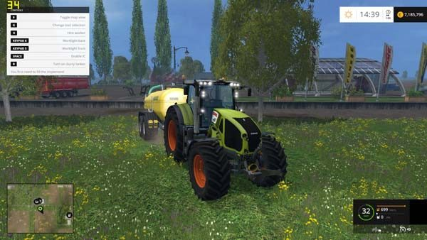 Claas Axion 950 v 4.0 1