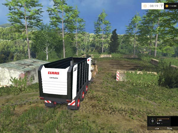 Claas Cargos 9500 Black v 1.0 1