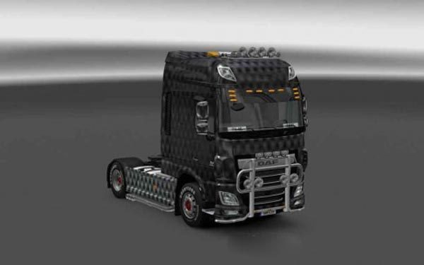 DAF XF Euro 6 Carbon Skin