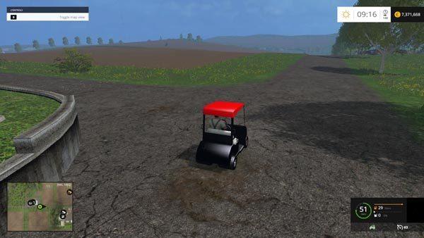 Golf Car v 1.1 [MP] 1