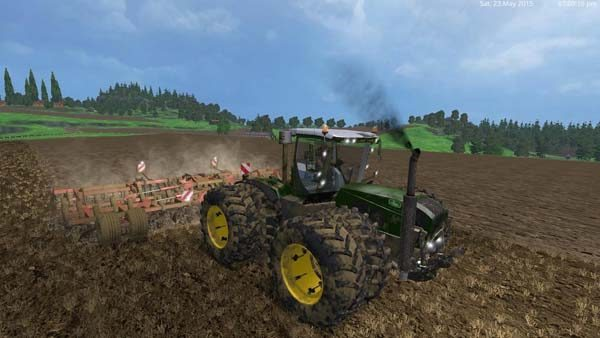 John Deere Caterpillar 3800 Tractor 400 hp v 2.0 1