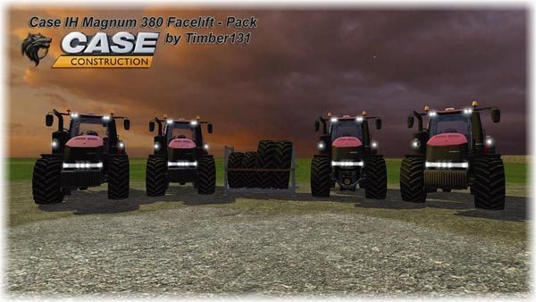 Case IH Magnum 380 Facelift Pack v 1.2 [MP]