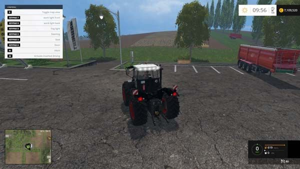 Claas Xerion 3300 Black Edition 1