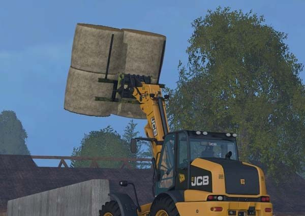 Custom build Balefork for Telehandler v 1.0 [MP] 1