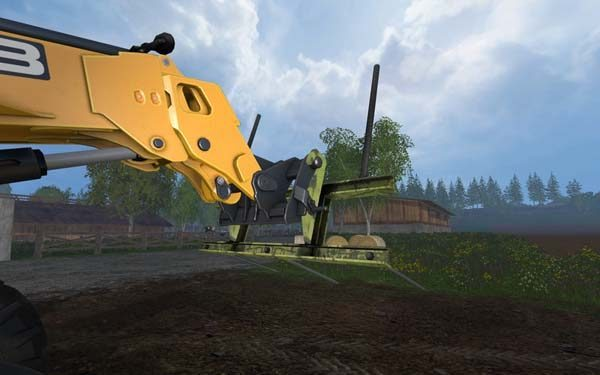 Custom build Balefork for Telehandler v 1.0 [MP] 2