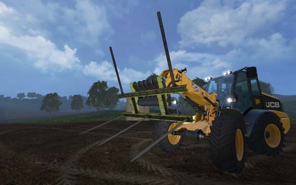 Custom build Balefork for Telehandler v 1.0 [MP]