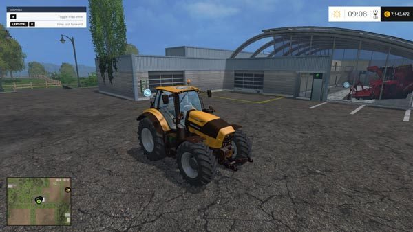 Deutz Fahr 7250 TTV v 1.3 [MP] 1