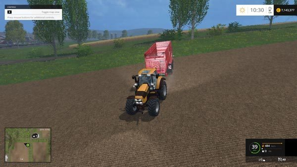 Deutz Fahr 7250 TTV v 1.3 [MP] 5