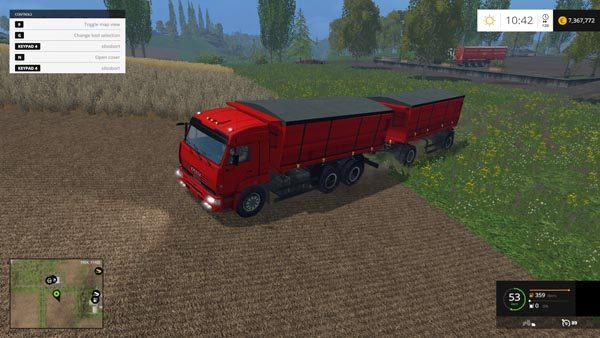 KamAZ 5460 v Beta and NEFAZ 8560 v 2.0 5
