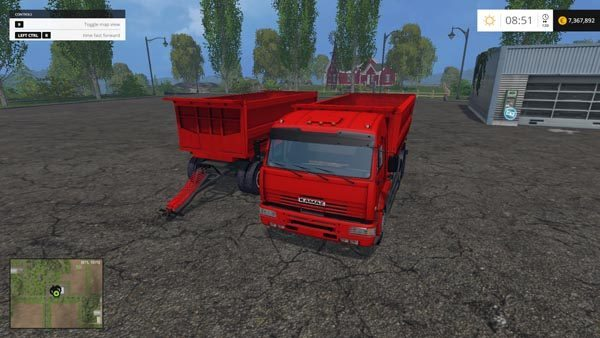 KamAZ 5460 v Beta and NEFAZ 8560 v 2.0