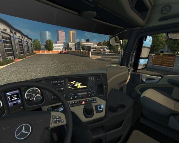 Mercedes Actros MP4 2014 Interior