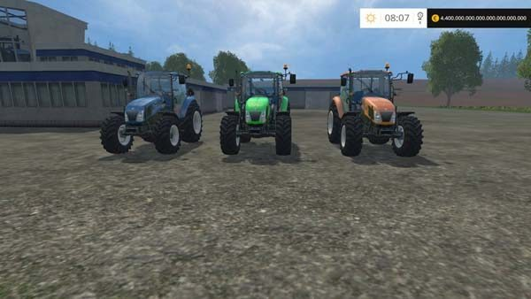 New Holland 115 T4 v 1.1 [MP]
