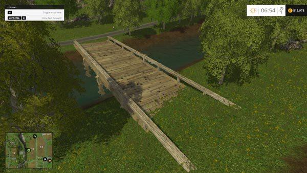 farming simulator 2017 how to build a bridge