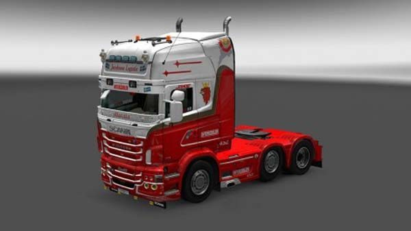 Scania RJL Jacobsson Logistic Skin