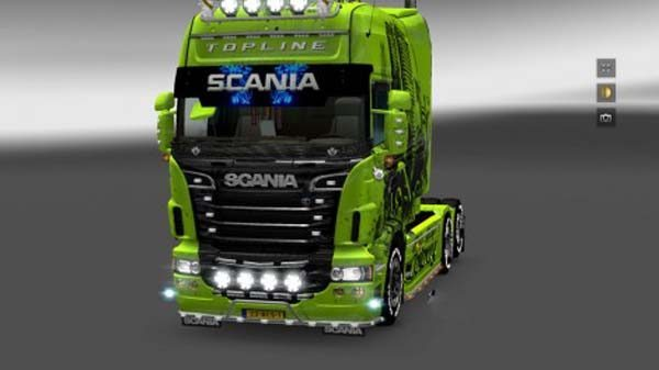 Scania RS Sunshield