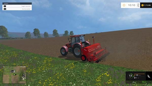 Seed and cultivator Kuhn 2