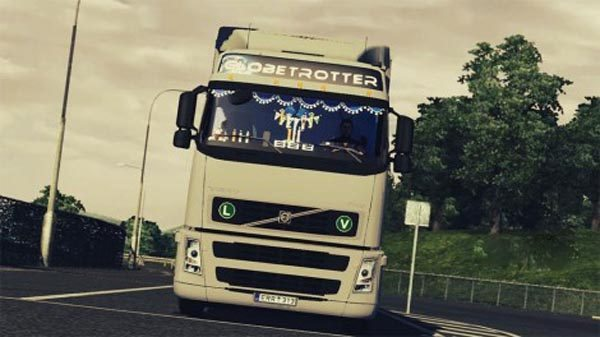 Volvo FH12 440 with interior