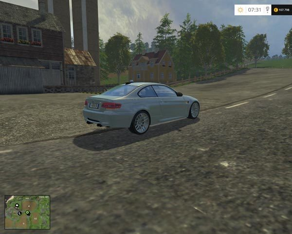 BMW M3 2008 CID v 1.1 [MP] 1