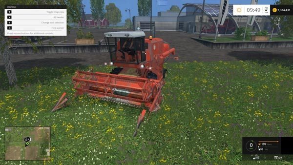 Bizon ZO56 Red with cabine v 1.0 [MP] 2