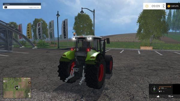 Claas Axion 820 v 2.0 1