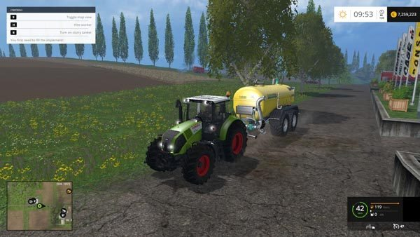 Claas Axion 820 v 2.0 2