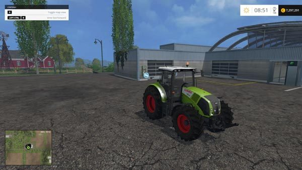 Claas Axion 820 v 2.0