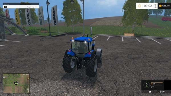 Ford New Holland 8340 1