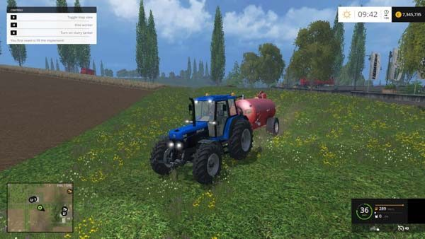 Ford New Holland 8340 2