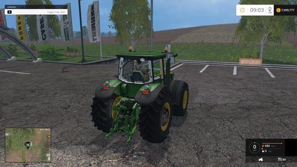 John Deere 8530 Tractor v 3.5 Hand Mode 1