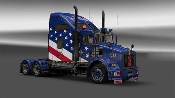 Kenworth T800 USA Skin
