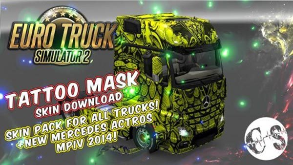 Tattoo Mask Skin Pack for All Trucks