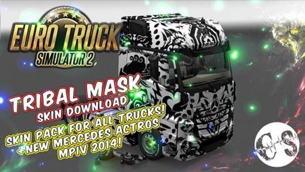 Tribal Mask Skin Pack for All Trucks