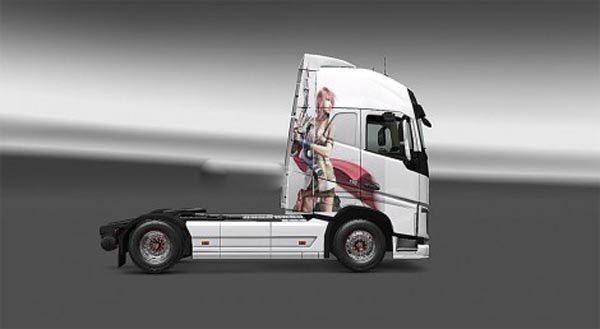 Volvo FH Final Fantasy Skin